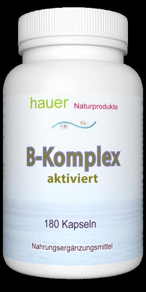 B-Komplex aktiviert ~ Familienpackung ~ 180 vegane Kapseln
