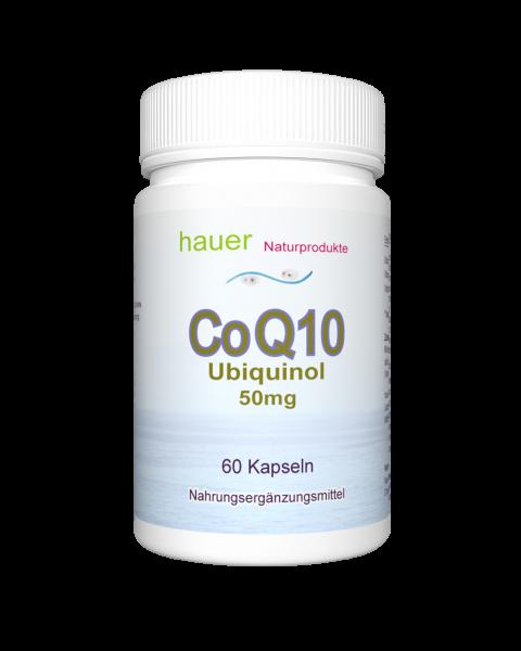 CoQ10 Ubiquinol 50mg ~ 60 vegane Kapseln