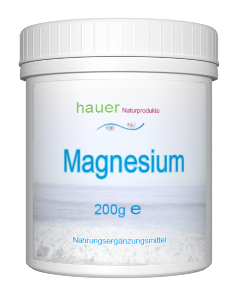 Magnesium 200g reines Pulver