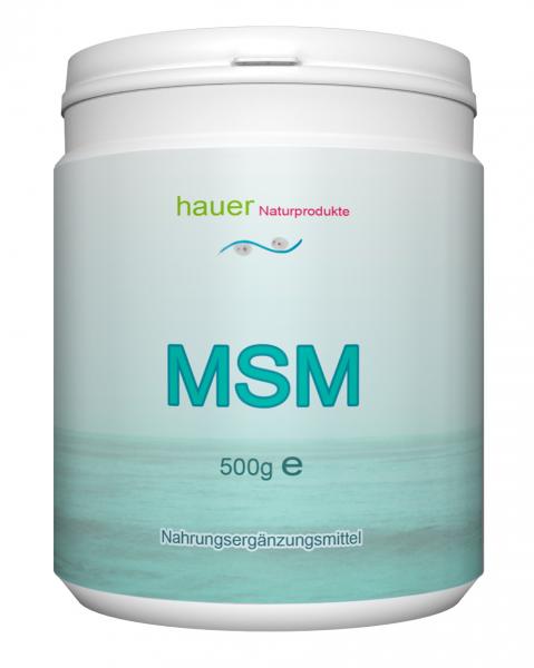 MSM 500g reines Pulver