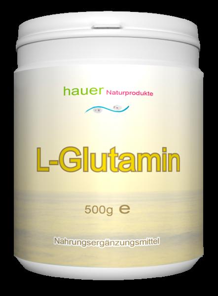 L-Glutamin 500g reines Pulver