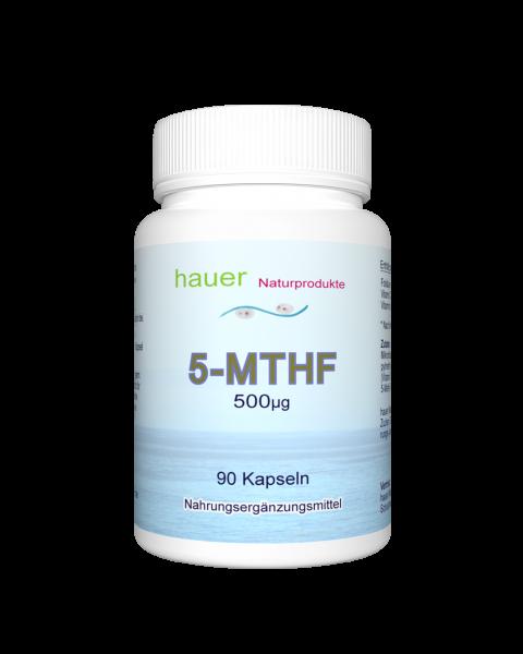 5-MTHF 500mcg ~ 90 vegane Kapseln