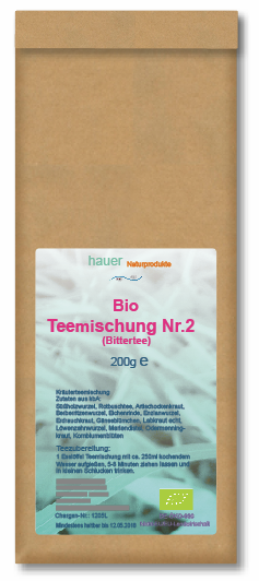 Bio-Teemischung Nr.2, aus kontrolliert biologischem Anbau, 200g
