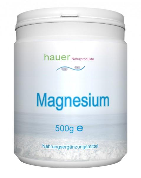 Magnesium 500g reines Pulver
