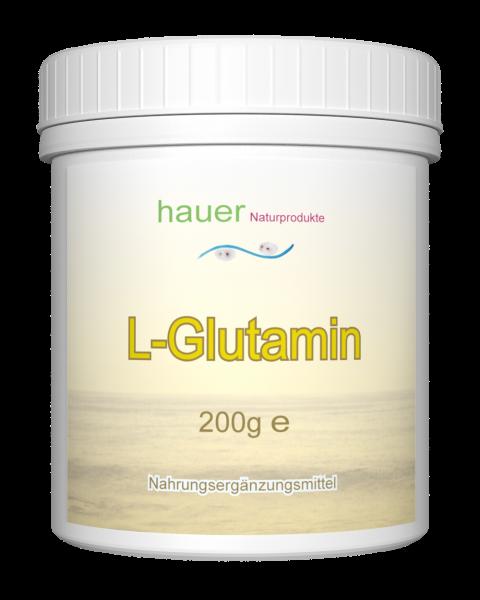 L-Glutamin 200g reines Pulver